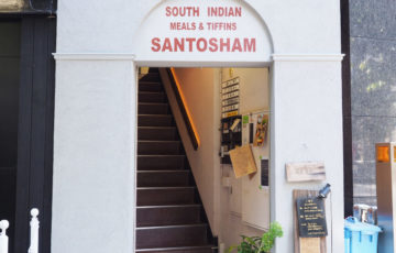 孤独のグルメ,三燈舎,南インドのカレー定食とチーズドーサ