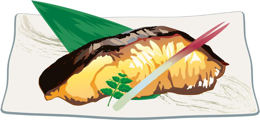 孤独のグルメ,ぶりの照焼きとクリームコロッケ,旬彩魚いなだ