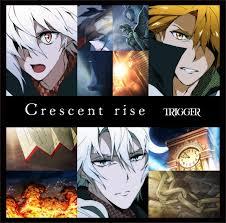 TRIGGER,Crescent rise,発売日,三日月