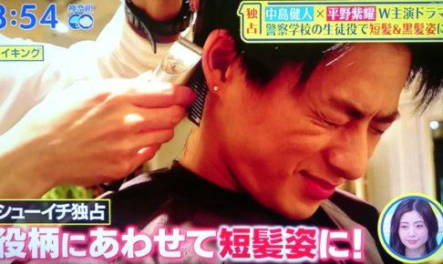 平野紫耀,黒髪短髪,カッコイイ,シューイチ,メイキング