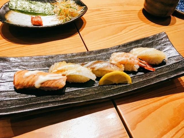 二子玉川ライズ,炙り寿司専門店,九州寿司,寿司虎,Aburi Sushi TORA,メニュー,口コミ